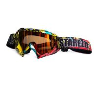 Очки кроссовые STAREZZI GOGGLES MX Hawaii Red