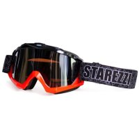 Очки кроссовые STAREZZI GOGGLES MX Black Fluo Orange