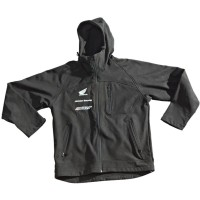 Флис HONDA RACING HOODED SOFT SHELL JACKET JOE ROCKET