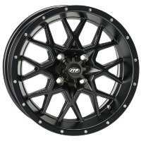 Диск колесный ITP SS ALLOY HURRICANE 14*7 4/110 5+2 Mate Black 14RB110BX