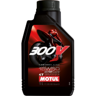 Масло моторное 300 V 4T FL Road Racing SAE 15W50 1л MOTUL