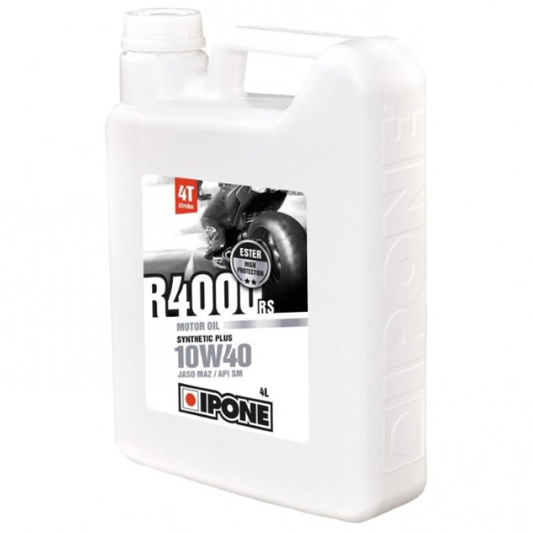 Масло моторное IPONE R4000 RS 10W-40 4л